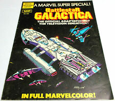 1978 Battlestar Galactica Special Collectors Edition Marvel Comic Book