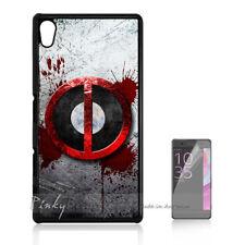 ( For Sony Z3 ) Back Case Cover P11291 Deadpool Ninja