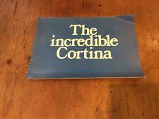 THE INCREDIBLE CORTINA SALES BROCHURE - LOTUS