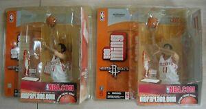 Lot of 2-2003 Mcfarlane NBA 5 YAO MING Houston Rockets ROOKIE figures China mip