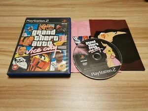 Grand Theft Auto Vice City For Sony PlayStation PS2 Complete Inc Map - See Offer
