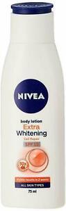 Nivea Extra Whitening Cell Repair Body Lotion SPF 15, (75ml) - uk