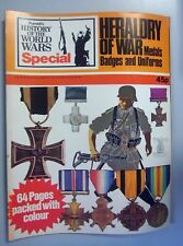 Heraldry of War ,Medals Badges and Uniforms ~History of the World Wars Special