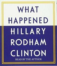 What Happened by Hillary Rodham Clinton (2017, 14 CD's, Unabridged)