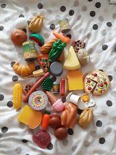Kids plastic play food