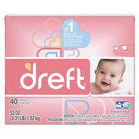 Dreft Ultra Laundry Detergent Powder Original Scent 53 oz Box 85882EA