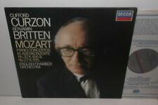 SXL 7007 Mozart Piano Concertos Nos.20 & 27 Clifford Curzon ECO Benjamin Britten