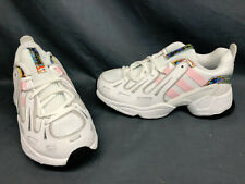 Adidas EQT Gazelle J Athletic Sneakers White Pink Black Girls Size 4.5 NEW!