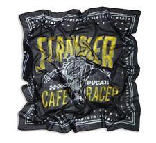 DUCATI embrouilleur RACER bandana foulard écharpe de tissu noir neuf 2018