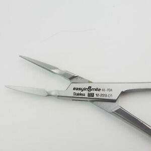 Dental Orthodontic Root Splinter Pliers Straight Head Dead Pulp Remove Forceps