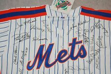 New York Mets 1993 Autographed Jersey 28 Signatures-Hall of Famers