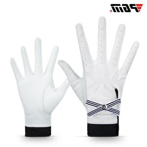 1Pair Golf Gloves Women Sheepskin Palm Genuine Leather Sport Gloves Anti-Slip