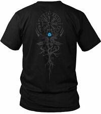 The Vegvisir Wikinger Raben Valhalla Walhalla Vikings Yggdrasil Herren T-Shirt