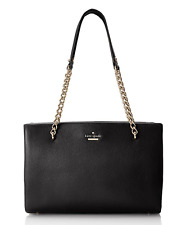 Kate Spade New York Emerson Place Smooth Small Phoebe Black Shoulder Bag Purse