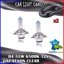 ampoule xenon H4 de voiture 55 w 12 v clear pour phare blanc optique X 2 pièces