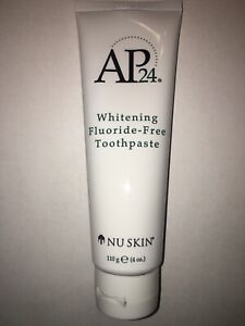 Brand New! Nu Skin Nuskin AP-24 Whitening Fluoride-Free Toothpaste June 2023