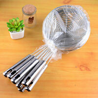 Skimmer Oval Fine Mesh Stainless Steel Food Oil Pot Strainer Ladle Kitchen Kits