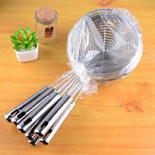 Skimmer Oval Fine Mesh Stainless Steel Food Oil Pot Strainer Ladle Kitchen Tools
