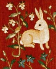 10% Off Scarlet Quince Counted X-stitch Chart-Cluny Tapestry Rabbit-Large Print