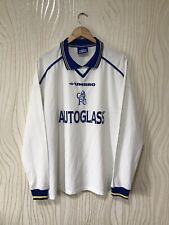 CHELSEA LONDON 1998 2000 AWAY FOOTBALL LONG SLEEVE SHIRT JERSEY UMBRO VINTAGE