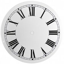 NEW White Replacement Clock Dial 7 inches 178mm Roman Numerals Clocks - CD47
