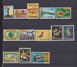 s16275) GHANA  MNH** 1959 Definitives 13v