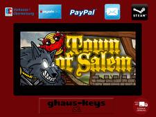 Town of Salem Steam Key Pc Game Download Code Neu Blitzversand
