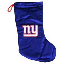 New York Giants Christmas Stocking Blue