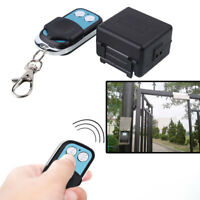 Electric Wireless Remote Control Switch For Access Control Door Gate Entry Lock