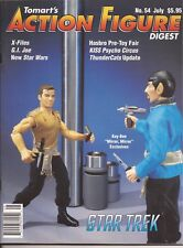 TOMART'S ACTION FIGURE Digest #54 July 1998 Star Trek Star Wars G.I.Joe Kiss