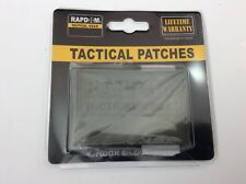 Rapdom Tactical Gear rubber 3D Patch Hook and Loop New In Package