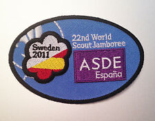 22nd World Scout Jamboree SPANISH ASDE CONTINGENT BADGE 2011