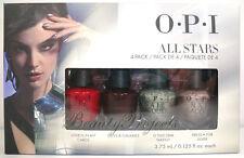 OPI All Stars Mini Nail Lacquers Polish 4pc Set .125oz NEW fast shipping!