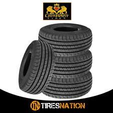 (4) New Lionhart Lionclaw HT 235/55R18 104V XL All Season Performance Tires