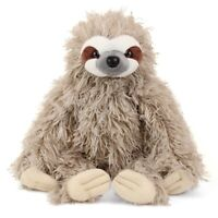 CUDDLEKINS THREE TOED SLOTH PLUSH SOFT TOY 30CM STUFFED ANIMAL BY WILD REPUBLIC