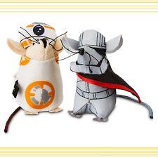 PETCO StarWars Character Mice Pet Fan Cat Toy 2(MltShpDsct)BB-8 Capt Phasma NEW