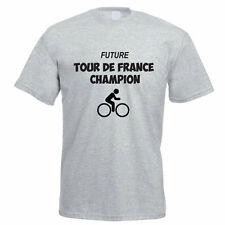 FUTURE TOUR DE FRANCE CHAMPION - Cycling / Bike / Sport Themed Mens T-Shirt