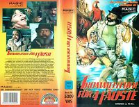 (VHS) Trommelfeuer für vier Fäuste -Robert Woods, Ignazio Spalla, Claudio Undari