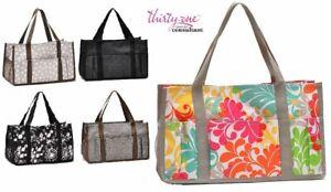 Thirty One Keep it caddy mini Organizer cosmetic tote bag 31 Gift Lotsa dot more