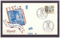 "Berlin, FDC ""Das Neue Berlin"" MiNr. 259 ESSt Berlin 18.11.1965"