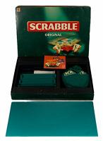Scrabble Original Board Game 1999 Mattel 100% Complete Vintage Retro Word Games