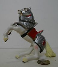 Papo 2005 Fantasy Knight Replacement Horse Figure White / Silver !!! KNIGHTS