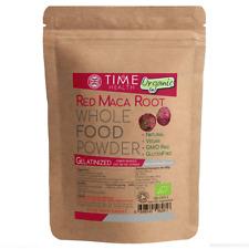 Organic Red Maca Root Powder 250g Gelatinized Tea Sexual Health Energy Vegan UK