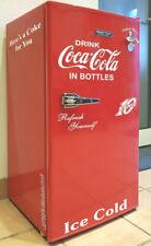 Retro Kühlschrank Aufkleber Set Drink Coca Cola Open Bottle Set 95L weiß glanz