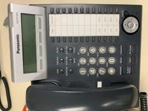 "Panasonic KX-DT343 Digital Display Phone Black ""Excellent Condition"""