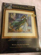 Dimensions Gold Collection Woodland Enchantress Counted Cross Stitch Kit New NIP