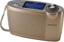 Roberts classic DAB+ FM RDS Digitalradio champagne