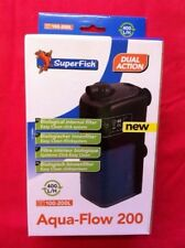 Superfish Aquarium Fish Tank Aqua Flow 200 Internal Filter 100L to 200L