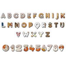 Acrylic Mirror Letters Alphabet Children Name Plaque Wall or Door Sign Display