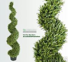 6' Rosemary Artificial Thick Topiary Tree Plant Outdoor